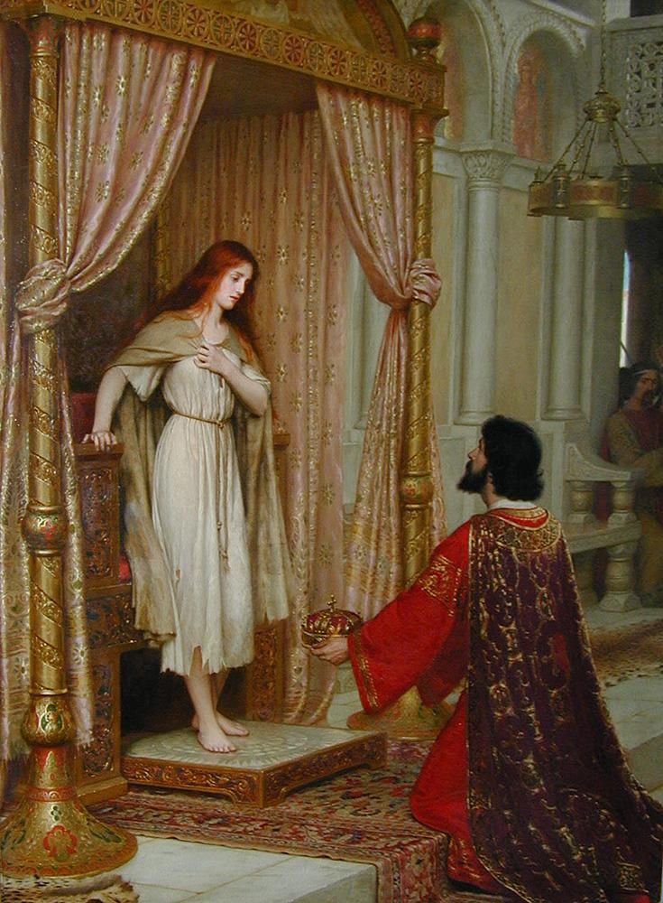 The King and the Beggar-maid