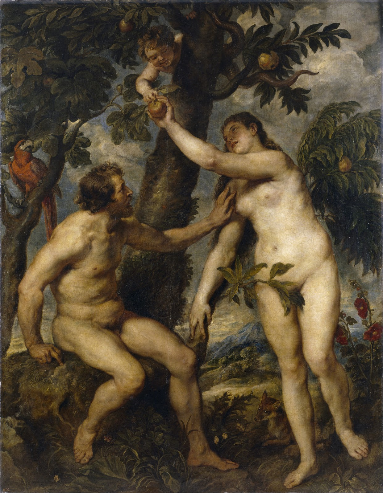 Sudenfall - The Fall of Man - Adam and Eve - Peter Paul Rubens (Public Domain)